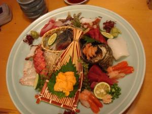 Gorgeous sashimi