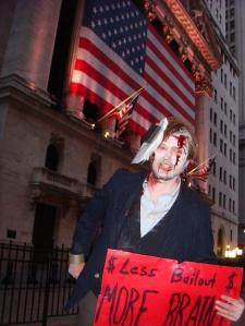zombies at the stock exchange