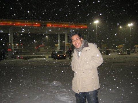 snow, glorious snow.