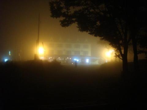 eerie fog that night