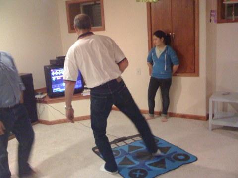 """ahah drunk relatives playing """"hip"""" games"""