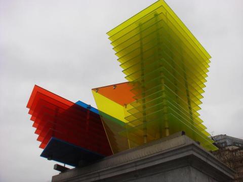 Cool thingy in Trafalgar square