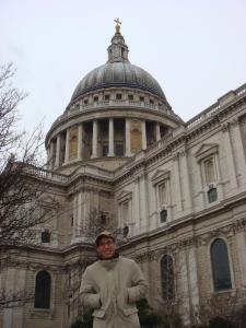 Great view for St Paul's Cathedral