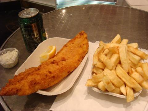 "Awesome Fish and Chips at ""Seashell on Lisson Grove"" by Regents Park"