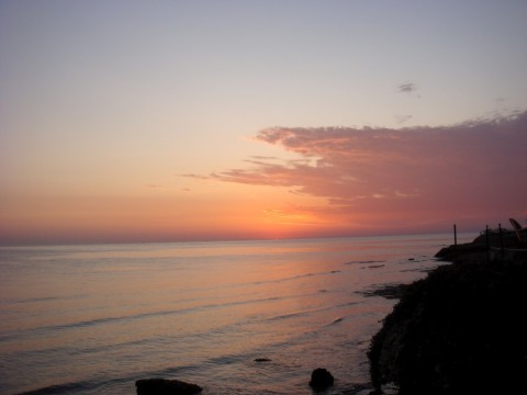 sunrise in Denia - a great vacation